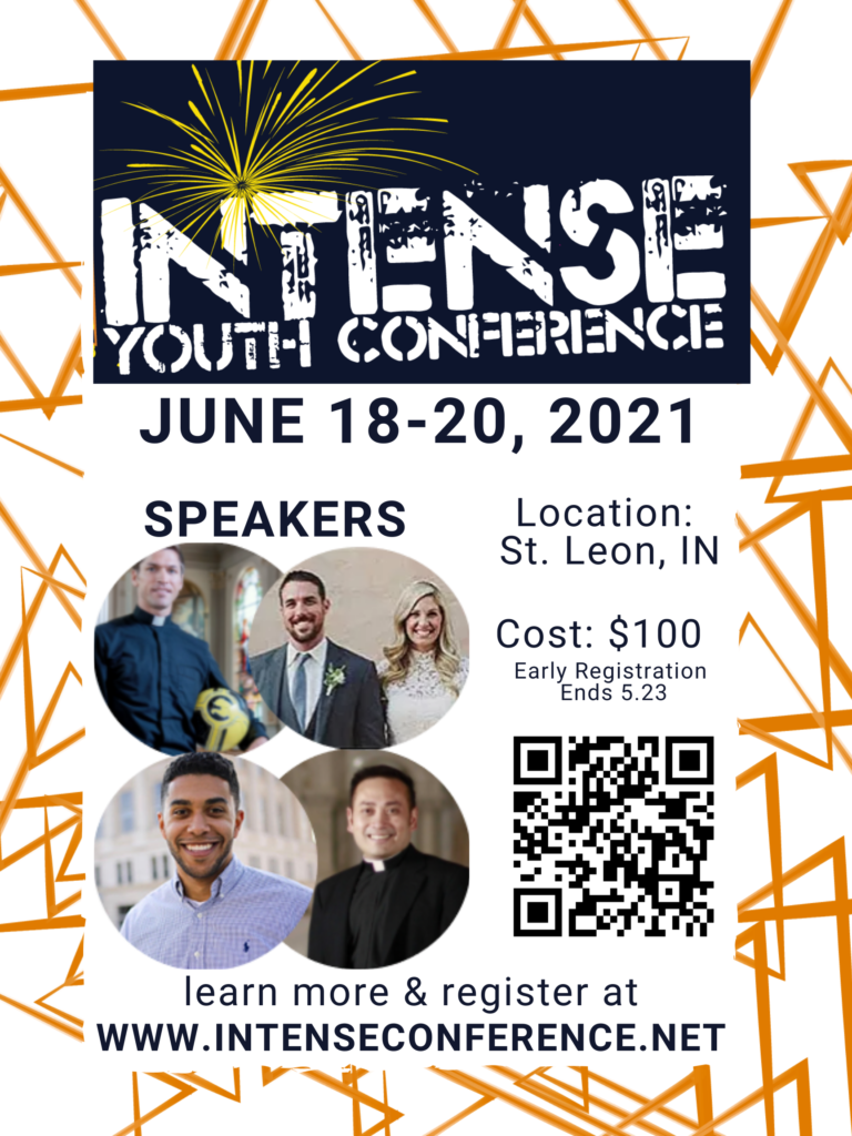 Intense Youth Conference Poster